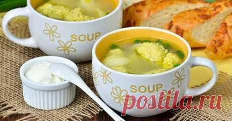 Суп с галушками - ТОП 10 пошаговых рецептов вкусного супа