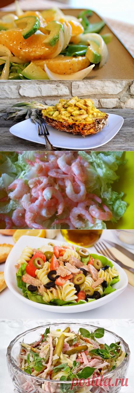 5 оригинальных салатов на праздничный стол