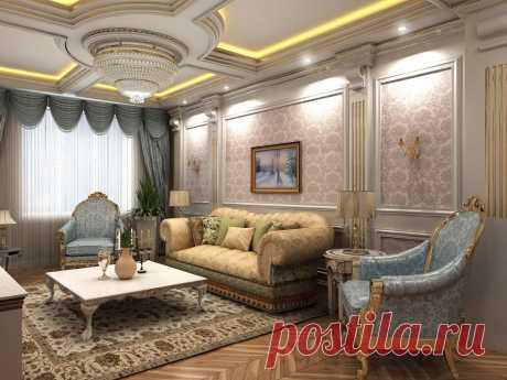 Гостинная - Дизайн интерьеров | Идеи вашего дома | Lodgers