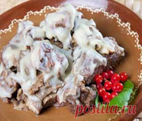 Румынская кухня: Чулама из телятины