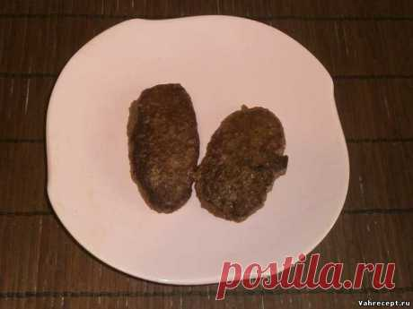 Печёночные котлеты - Пошаговый рецепт с фото - Вторые блюда