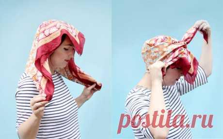 Как красиво повязать платок: 5 оригинальных способов | Анютины глазки | Яндекс Дзен