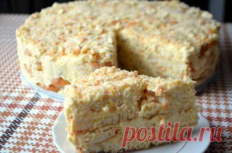 "Торт ""Наполеон"" без выпечки. Вкуснятина за 20 минут | Жизненный наблюдатель | Яндекс Дзен"