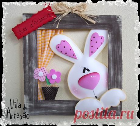 Как сделать украшение для пасхального EVA с кроликом - Artisan Village