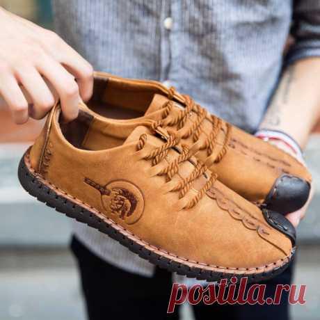 Кожа обувь мужчин круглый мыс кожа кружева моды вскользь бизнес вождения обувь квартиры мужчин Размер обуви(Человек)         38394041424344 Длина стопы(мм)240245250255260265270  100% новый и высокое качество!  Тип: Повседневная обувь  Цвет: Черный, желтый, цвет хаки  Пол: Мужчины  Размер: ЕС 38-ЕС 44  Материал: Кожа  Стиль: Казуальные игры, мода РАЗМЕР:ЕС-размер 38-44 38 фут длина 240 мм Длина ступни 39 245 мм 40 футов длиной 250 мм 41 ноги длина 255 мм 42 дли...