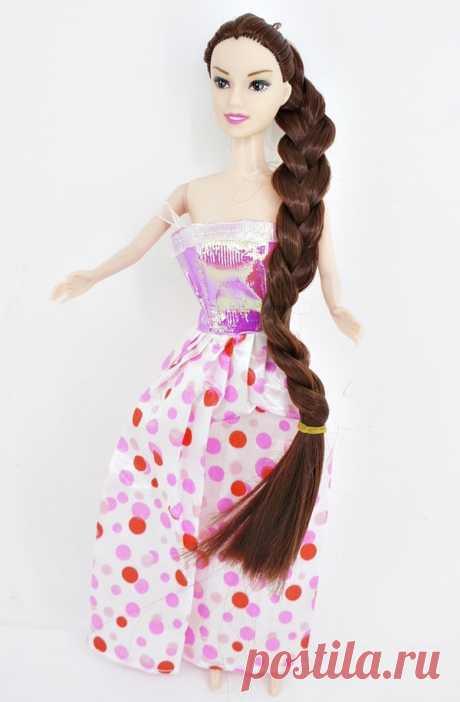 Кукла с длинной косой в коробке CharmGirl оптом в детские сады