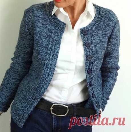 Подборка стильных облегающих вязаных жакетов | Только handmade | Яндекс Дзен