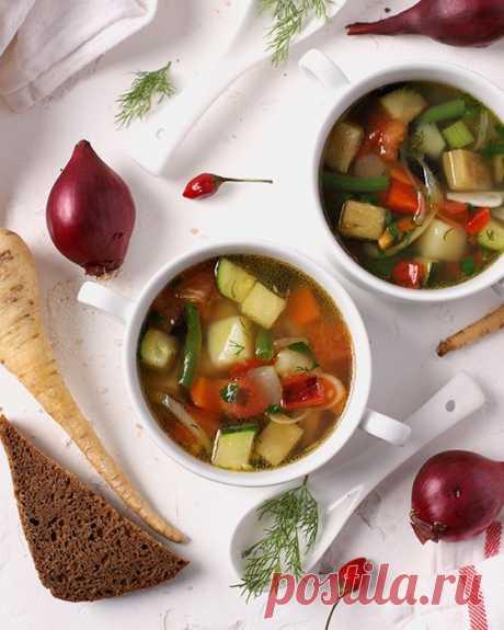 Суп «Минестроне» — классический рецепт с фото пошагово Рецепт классического супа «Минестроне» с пошаговыми фото. Постный итальянский овощной суп с фасолью, сельдереем и помидорами.