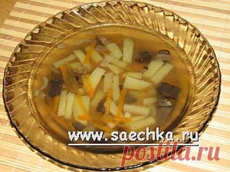 Грибной суп из мультиварки   рецепты на Saechka.Ru
