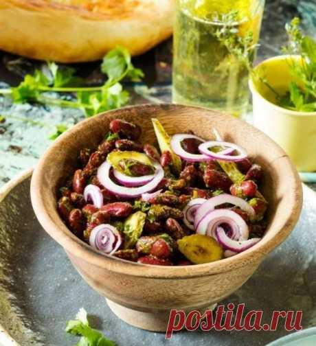 Закуска из красной фасоли по-грузински - Простые рецепты Овкусе.ру