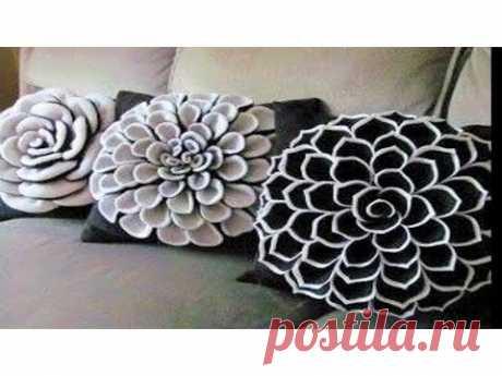 DIY Decorating ideas | Cushion Cover idea | Smocked Pillow Cover Design | Pillow | Home decor - YouTube