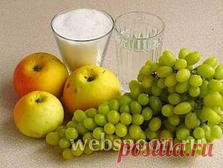 Джем из яблок и винограда рецепт с фото на Webspoon.ru