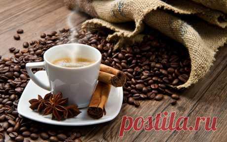 Вы любите пить кофе с корицей ?