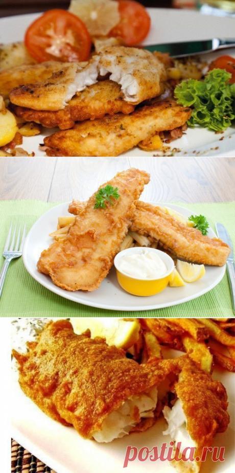 Пальчики оближешь! 6 рецептов кляра для рыбы | Вкусные рецепты