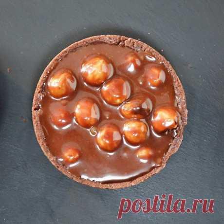 Карамельно-ореховые тарталетки