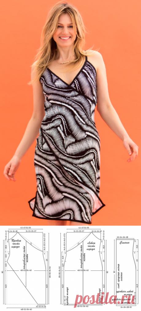 Выкройка платья с запахом   pokroyka.ru-уроки кроя и шитья