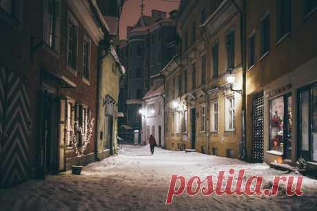 Улочки Таллина. Автор фото: Алексей Шуманов.