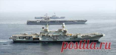 Самые большие авианосцы в мире, находящиеся на вооружении