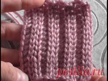 не резинка 2х2 крючком СОЕДИНИТЕЛЬНЫЕ СТОЛБИКИ slip stitch crochet