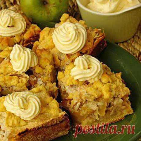 Яблочный пирог с грецкими орехами по-провански рецепт – французская кухня: выпечка и десерты