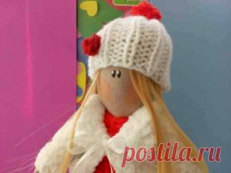 Интерьерная кукла Снежана