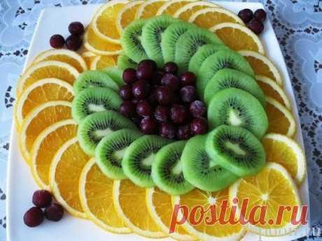 Красивая нарезка фруктов: идеи с фото для вдохновения! - 8 Ложек
