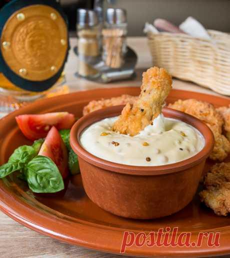 Сметанный соус с горчицей | Вкусный блог - рецепты под настроение