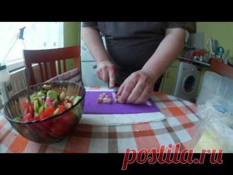 В кухнята с тате Пепо: Овчарска салата за 4 минути