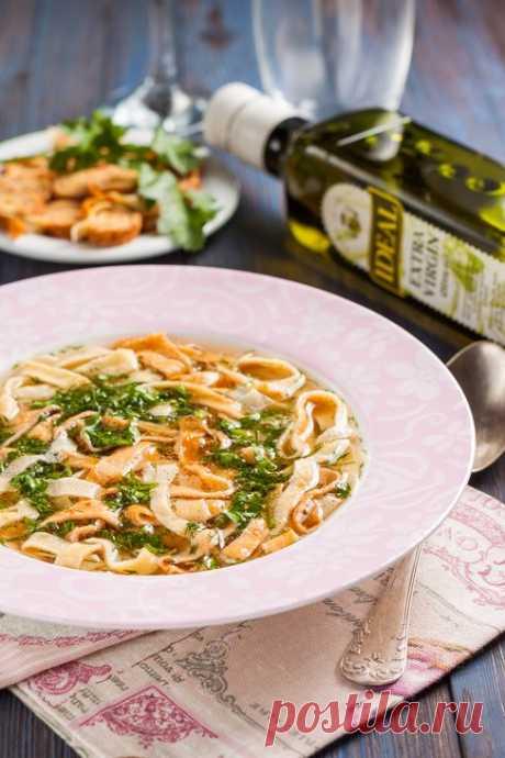 Нежный вкусный суп с яичной стружкой (Frittatensuppe) — Вкусные рецепты
