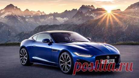 Обновленные купе и родстер Jaguar F-type 2020