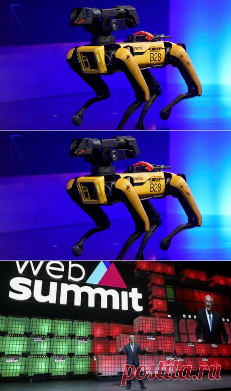 A Boston Dynamics teve um dos pontos altos da Web Summit