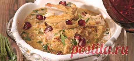 Сациви из курицы по грузински - рецепты настоящего соуса и простого блюда