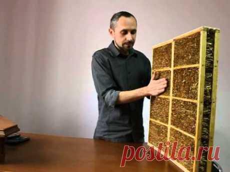 Что будет, если соломенную стену оштукатурить цементным раствором?