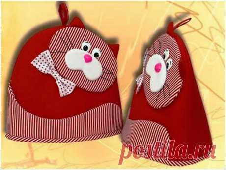 """«Интересные кухонные прихватки """"Котики"""" - Своими руками » — карточка пользователя woo.akama в Яндекс.Коллекциях"""
