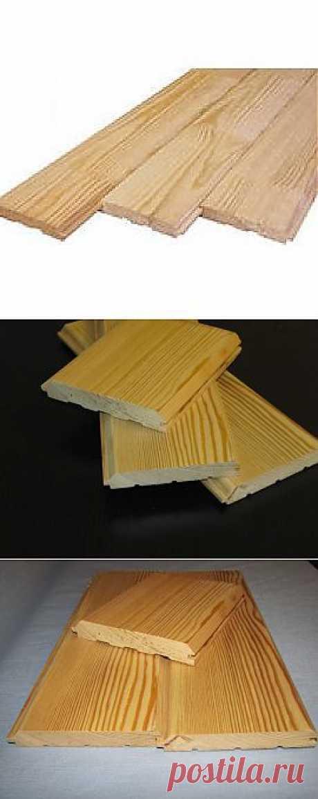 Имитация бруса из дерева - лиственница, сосна . Описание и цена на материал