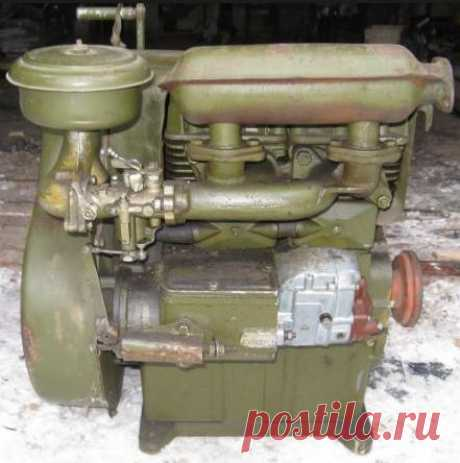 Двигатель УД-2. Устройство и техническая характеристика | Подробно о тракторах и сельскохозяйственной технике