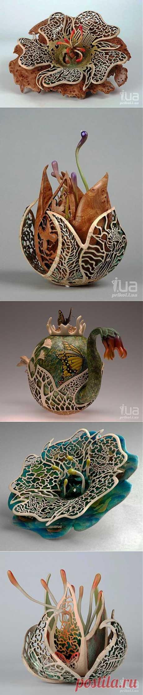 Удивительное творчество Джо Ричардсона - резьба по дереву.