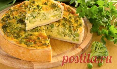 French kish with broccoli and cheese   the Intersection