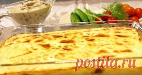Вкусная картофельная запеканка Из простых продуктов получается вкуснейшее, почти праздничное блюдо. Запеканка из картофеля, грибов и мяса — это быстро, вкусно и очень легко.Ингредиенты: Картофельное пюре (600 гр. картофеля, 2 яйца, 2 ст...