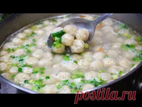 Суп, который съедается подчистую ВСЕГДА! - YouTubeСуп с сырными шариками.