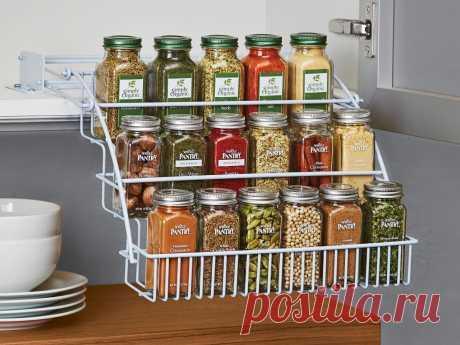 Как организовать хранение сыпучих продуктов на кухне