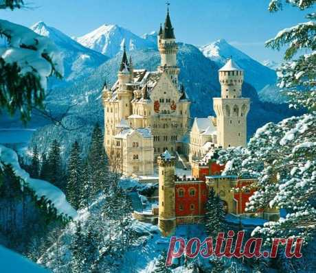 Бавария, замок Нойшванвтайн