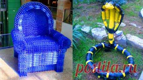 ¡14 ideas abruptas para el uso de las botellas de plástico!   la opinión femenina   Yandeks Dzen