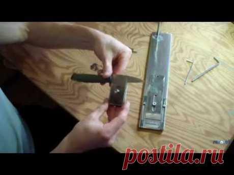 Простое поворотное устройство ножа для точилки