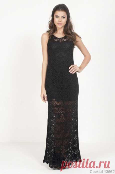 Схемы для платья от Cecilia Prado nuo €len@.