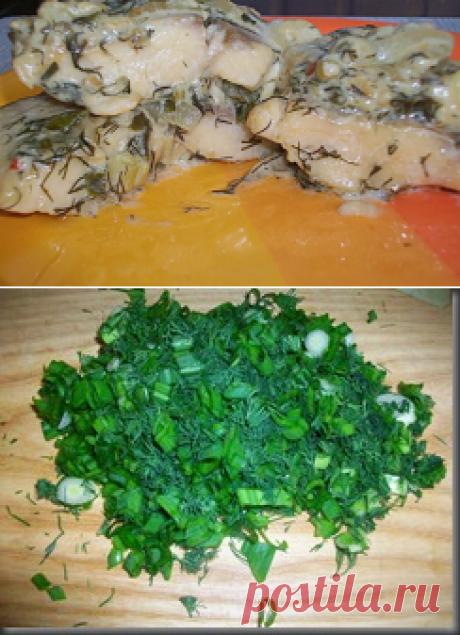 Рыба в сметанном соусе. Тушеная рыба в сметанном соусе