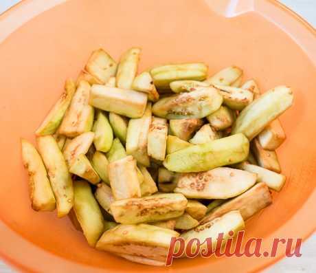 Рецепт баклажанов в кисло-сладком соусе на Вкусном Блоге