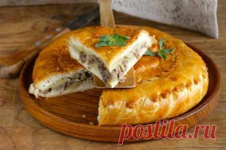 Мясной пирог готовлю по быстром рецепту: вкус потрясающий, минимум затрат