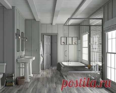 Ламинат с 100% водостойкостью для вашей ванной от SPC StoneFloor Дуб Каньон купить в Тамбове.