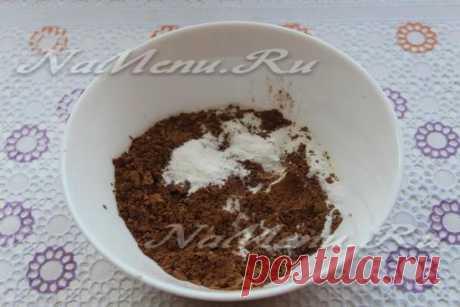 Шоколадный кекс в микроволновке за 5 минут, рецепт в кружке